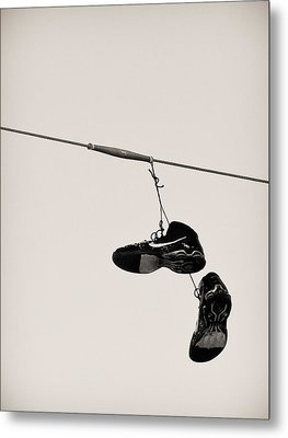 Nikes Metal Print by Tracy Salava