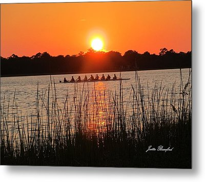 Metal Print featuring the photograph Nine Gifts  by Joetta Beauford