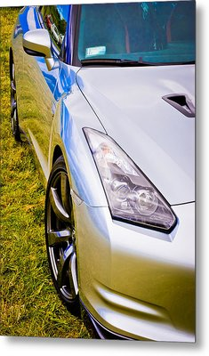 Nissan Gtr 2 Metal Print by Phil 'motography' Clark