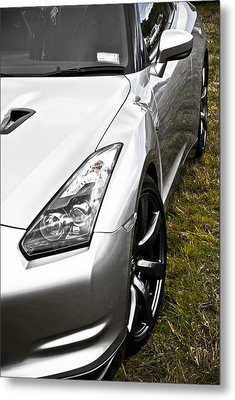 Nissan Gtr Metal Print by Phil 'motography' Clark
