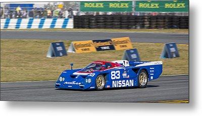 Nissan Zx-gtp Turbo Metal Print