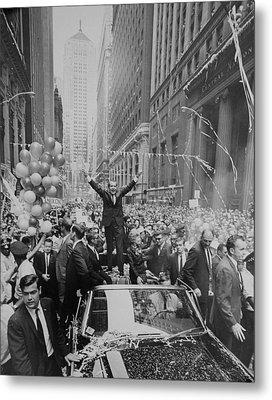 Nixon 1968 Presidential Campaign Metal Print by Everett