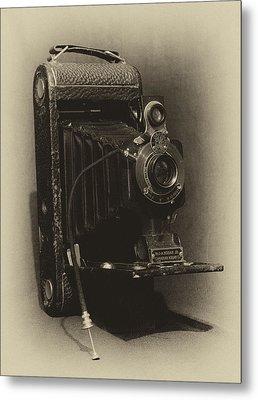 No. 1-a Kodak Jr. Metal Print by Leah Palmer