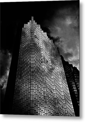 No 200 Bay St Rbp South Tower Toronto Canada Metal Print by Brian Carson