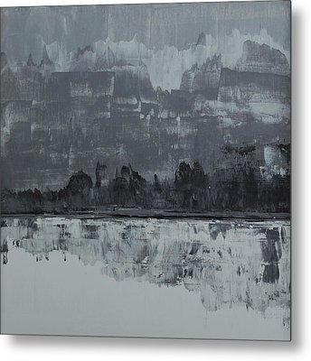 No. 72 Metal Print by Diana Ludet
