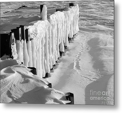 No Ferry Today Metal Print