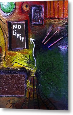 No Limits Metal Print by Mirko Gallery