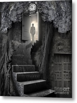Metal Print featuring the photograph No More Lies by Keith Kapple