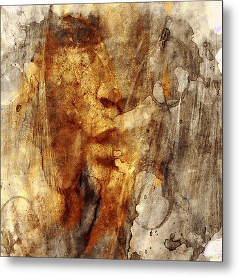 No Name Face Metal Print by Marian Voicu