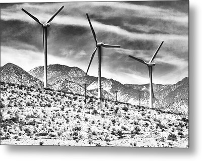 No Place Like Home 3 Desert Hot Springs Metal Print by William Dey