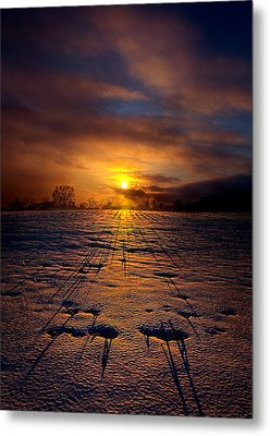 No Rush Metal Print by Phil Koch