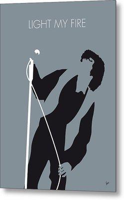 No007 My The Doors Minimal Music Poster Metal Print by Chungkong Art