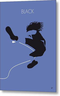 No008 My Pearl Jam Minimal Music Poster Metal Print by Chungkong Art
