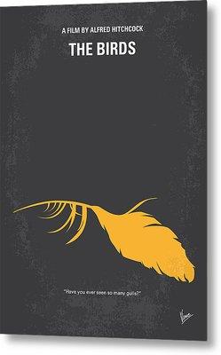 No110 My Birds Movie Poster Metal Print by Chungkong Art