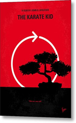 No125 My Karate Kid Minimal Movie Poster Metal Print