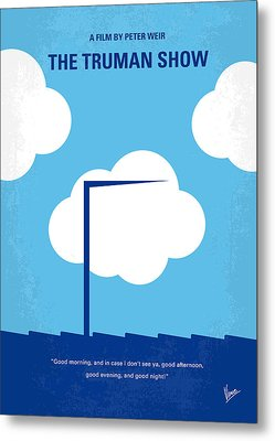 No234 My Truman Show Minimal Movie Poster Metal Print