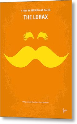 No261 My The Lorax Minimal Movie Poster Metal Print