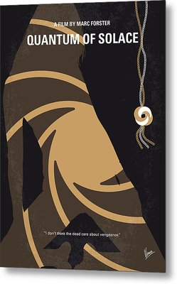 No277-007-2 My Quantum Of Solace Minimal Movie Poster Metal Print by Chungkong Art