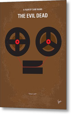 No380 My The Evil Dead Minimal Movie Poster Metal Print by Chungkong Art