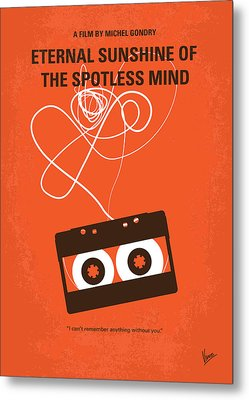 No384 My Eternal Sunshine Of The Spotless Mind Minimal Movie Pos Metal Print by Chungkong Art