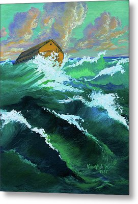 Noah's Ark Metal Print by Karon Melillo DeVega