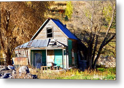 Metal Print featuring the photograph Nobody's Home by Jackie Carpenter