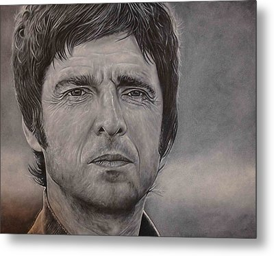 Noel Gallagher Metal Print by David Dunne