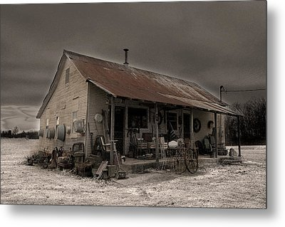 Noland Country Store Metal Print by William Fields