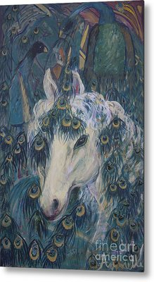 Nola's Unicorn Metal Print