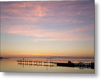 Nordic Light Metal Print