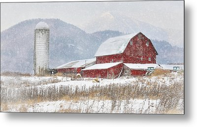 Nor'easter Metal Print by Lori Deiter
