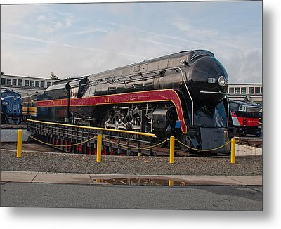 Norfolk And Western Class-j 611 Metal Print