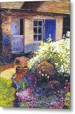 Normandy Spring Metal Print by David Lloyd Glover