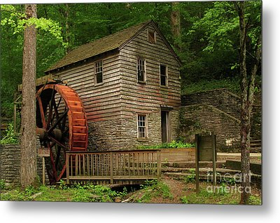 Rice Grist Mill Metal Print