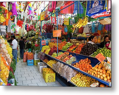 North America, Mexico, Guanajuato Metal Print by Julie Eggers