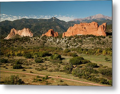 North America, Usa, Colorado Springs Metal Print by Patrick J. Wall