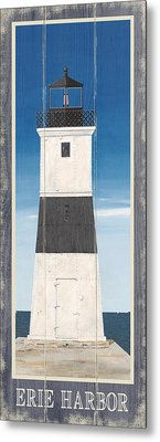 North American Lighthouses - Erie Metal Print by Gail Fraser