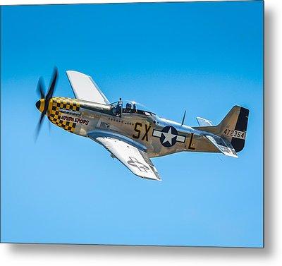 North American P-51d Mustang  Metal Print by Puget  Exposure