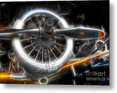 North American T-6 Texan Warbirds Metal Print by Lee Dos Santos