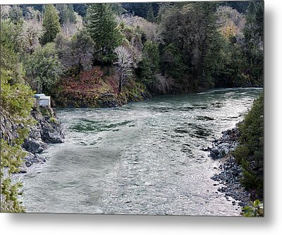 North And Middle Fork Of Smith River 2 Metal Print