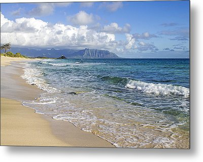 North Beach Kaneohe 7 Metal Print