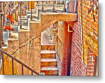 North By Northwest By Denise Dube Metal Print by Denise Dube