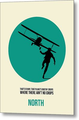 North By Northwest Poster 1 Metal Print by Naxart Studio