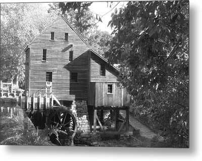 North Carolina Watermill Metal Print by Dwight Cook