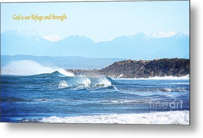 North Coast Surf  Metal Print by Beverly Guilliams