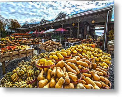 North Fork Farmstand Metal Print