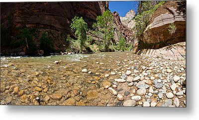 North Fork Of The Virgin River, Zion Metal Print
