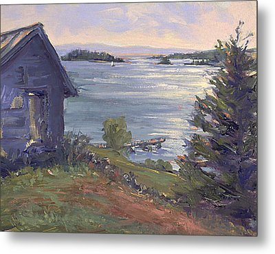 North Haven Island Morning Metal Print