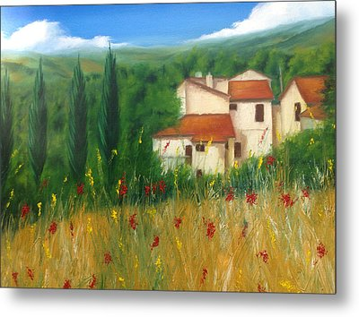 North Of Florence Metal Print