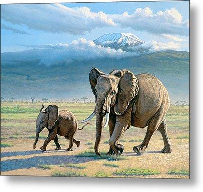 North Of Kilimanjaro  Metal Print by Paul Krapf